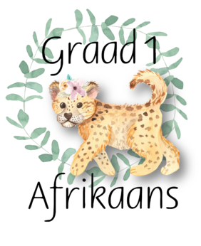 Graad 1 Afrikaans Huistaal