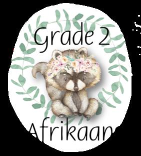 Graad 2 Afrikaans Eerste Addisionele Taal