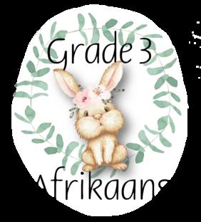 Graad 3 Afrikaans Eerste Addisionele Taal
